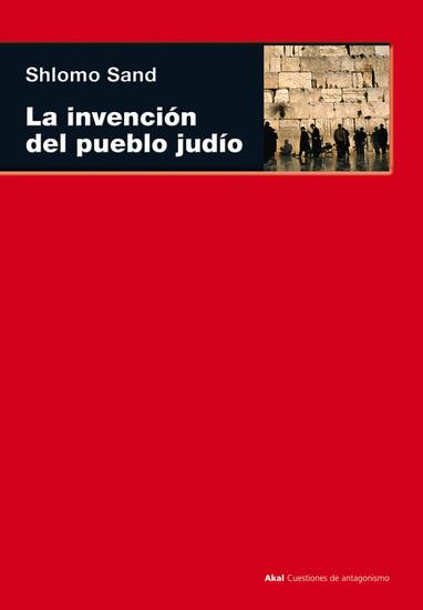 La invención del pueblo judío - cover