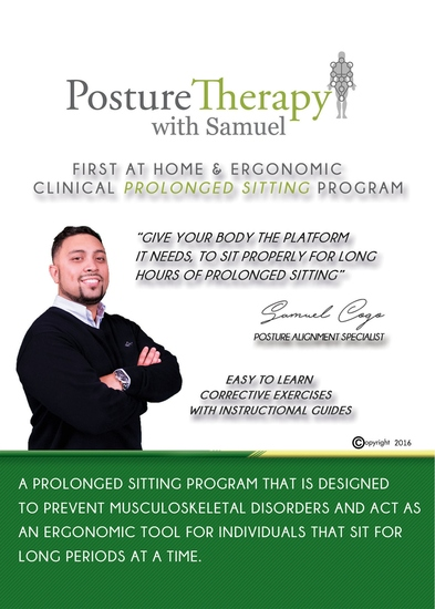 The First At-Home & Ergonomic Prolonged Sitting Program - Responsible Pain Management - cover