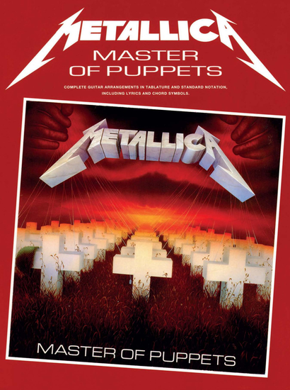 Metallica: Master of Puppets (Guitar TAB) - cover
