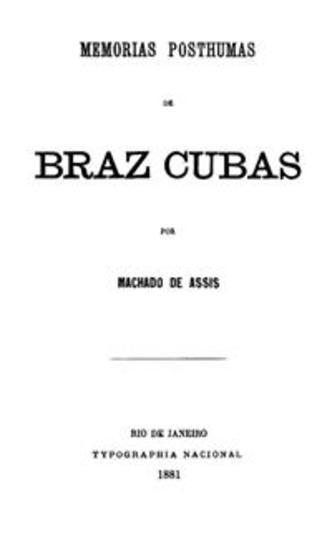 Memorias Postumas de Braz Cubas - cover