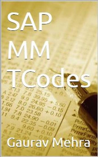 SAP MM TCodes - cover