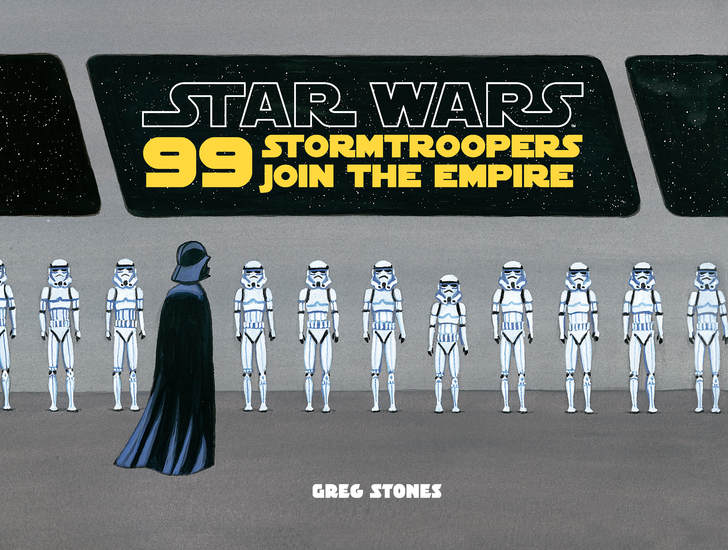 99 Stormtroopers Join the Empire - cover