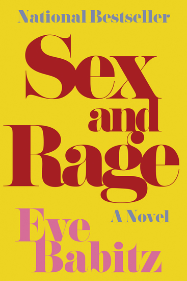 Sex and Rage - A Novel - cover