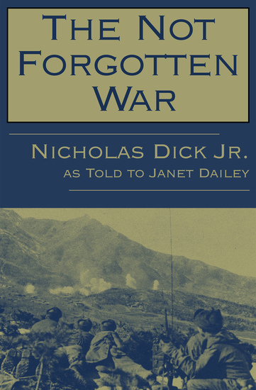 The Not Forgotten War - cover