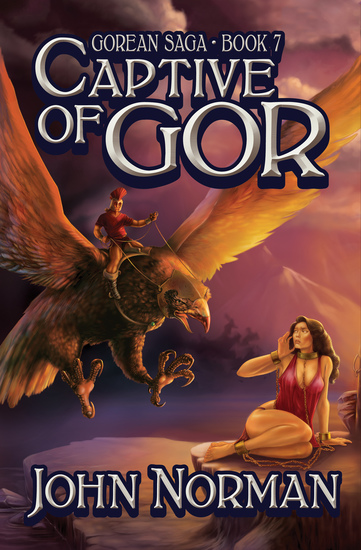 Captive of Gor - cover