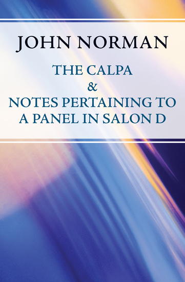 The Calpa & Notes Pertaining to a Panel in Salon D - cover