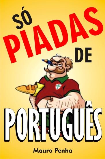 Só piadas de português - cover