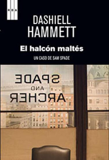 El halcón maltés - Un caso de Sam Spade - cover