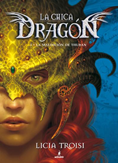La chica dragón I - La maldición de Thuban - cover