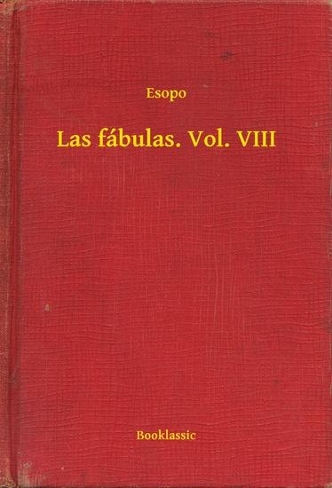 Las fábulas Vol VIII - cover