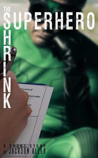Superhero Shrink - cover
