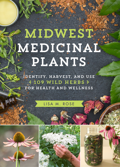 Midwest Medicinal Plants - Identify Harvest and Use 109 Wild Herbs for Health and Wellness - cover