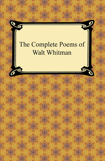 The Complete Poems of Walt Whitman - cover