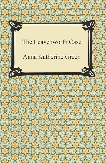 The Leavenworth Case - cover