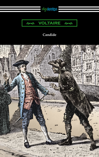 Candide (Illustrated by Adrien Moreau with Introductions by Philip Littell and J M Wheeler) - cover