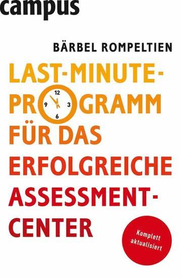 Last-Minute-Programm für das erfolgreiche Assessment-Center - cover