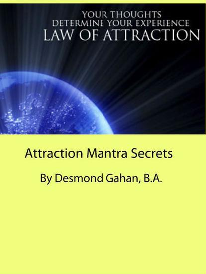 Attraction Mantra Secrets - cover