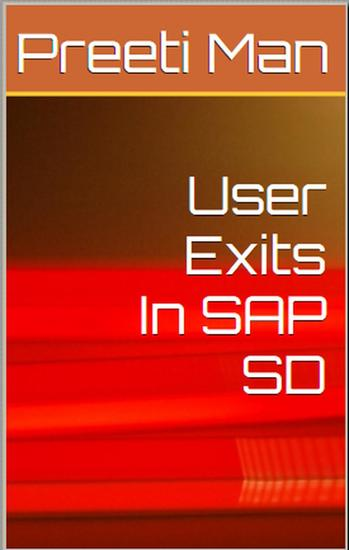User Exits In SAP SD - cover