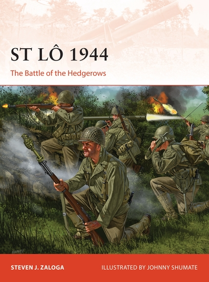 St Lô 1944 - The Battle of the Hedgerows - cover