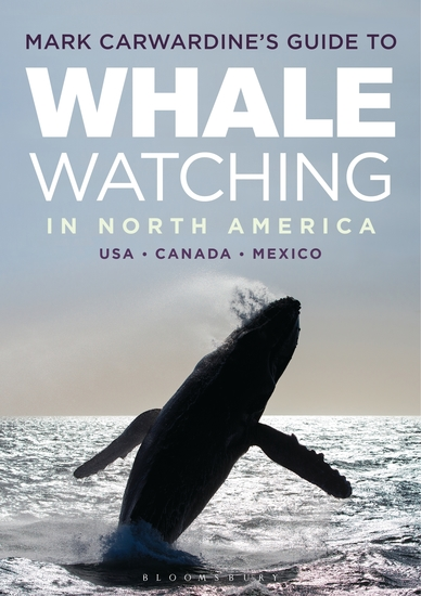 Mark Carwardine's Guide to Whale Watching in North America - cover