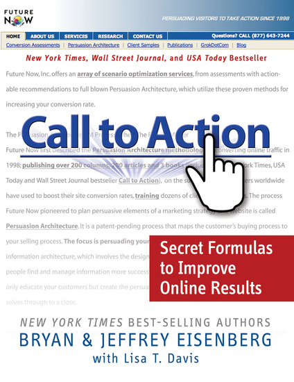 Call to Action - Secret Formulas to Improve Online Results - cover
