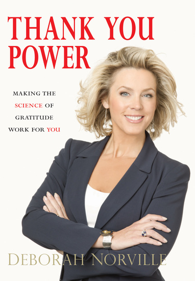 Thank You Power - Making the Science of Gratitude Work for You - cover