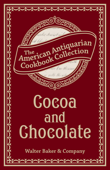 Cocoa and Chocolate - cover