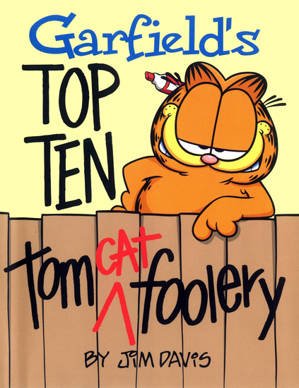 Garfield's Top Ten Tom(cat) Foolery - cover