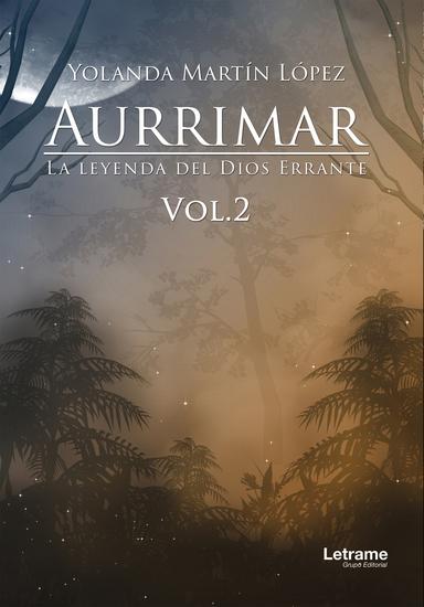 Aurrimar La leyenda del Dios Errante - cover