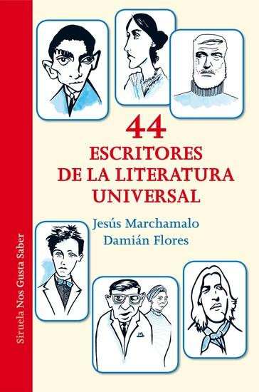 44 escritores de la literatura universal - cover