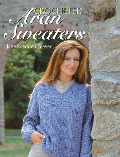 Crocheted Aran Sweaters - cover