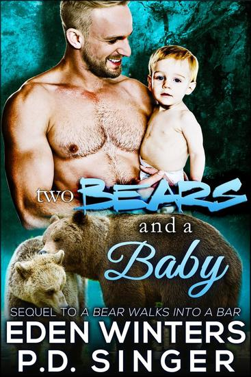 Two Bears and a Baby - Ballantine Bears - cover