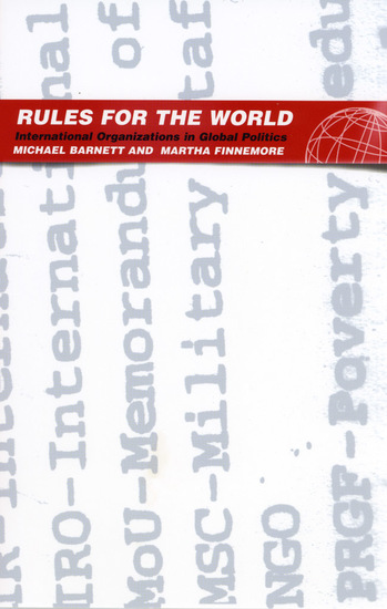 Rules for the World - International Organizations in Global Politics - cover