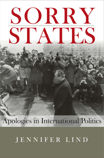 Sorry States - Apologies in International Politics - cover
