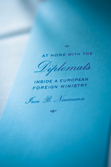 At Home with the Diplomats - Inside a European Foreign Ministry - cover