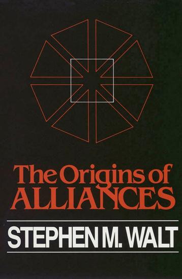The Origins of Alliances - cover