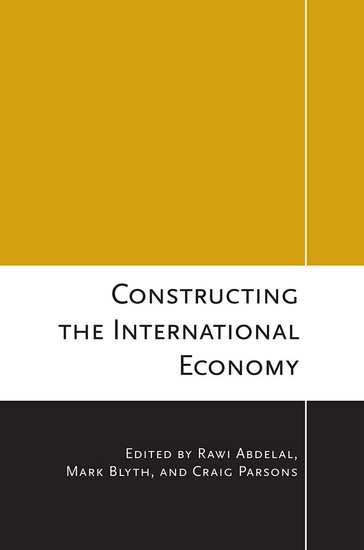 Constructing the International Economy - cover