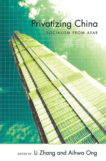 Privatizing China - Socialism from Afar - cover