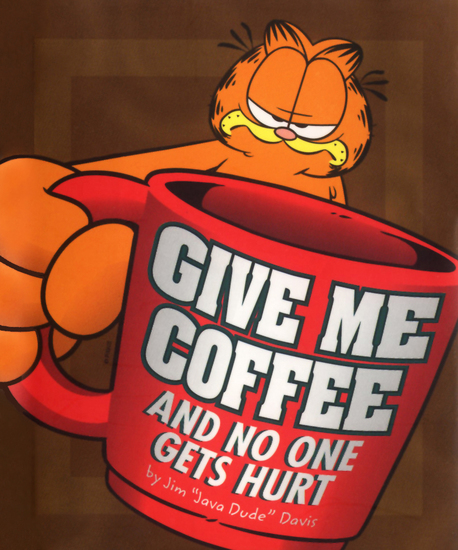 Give Me Coffee and No One Gets Hurt! - cover