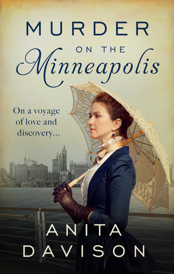 Murder on the Minneapolis - A murder mystery that will keep you guessing - cover
