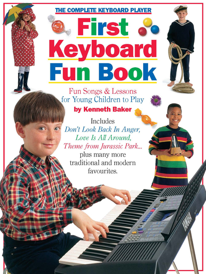 The Complete Keyboard Player: First Keyboard Fun Book - cover