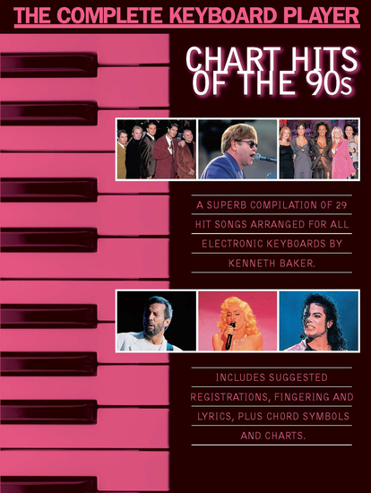 The Complete Keyboard Player: Chart Hits of the 90s - cover
