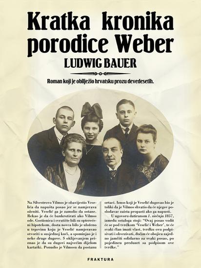 Kratka kronika porodice Weber - cover