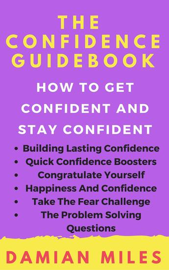 The Confidence Guidebook - cover