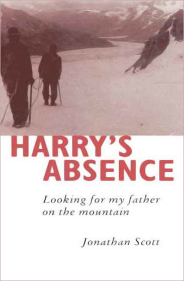 Harry's Absence - Looking for My Father on the Mountain - cover