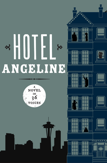Hotel Angeline - A Novel in 36 Voices - cover