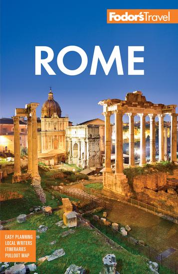 Fodor's Rome - cover