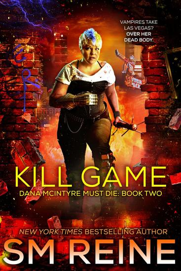 Kill Game - Dana McIntyre Must Die #2 - cover