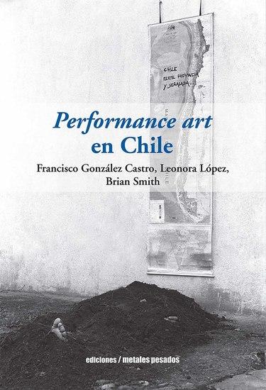 Performance art en Chile - cover