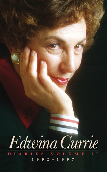 Edwina Currie - Diaries 1992-1997 - cover